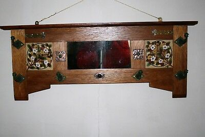 Arts And Crafts Style Coat Rack In Super Condition