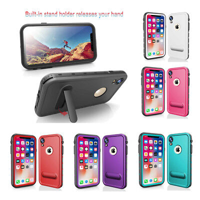 RedPepper Waterproof Cover Full-Body Protective Case for iPhone X XR XS Max
