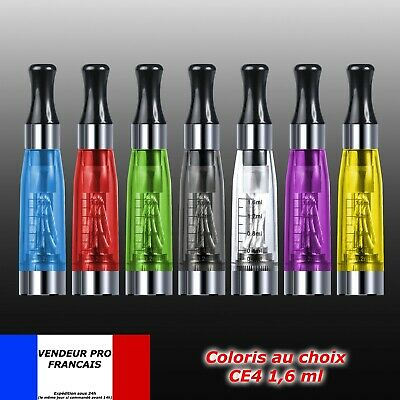 Atomiseur Clearomiseur Original 1.6ml 510 Tank eGo CE4 Atomizer clearomizer LOT