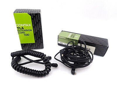 "Contax TLA Extension Cord 100 + Contax Cable Switch ""L"" ""SET"""