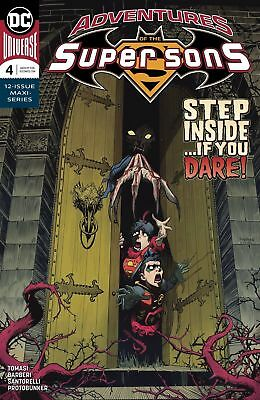 Adventures Of The Super Sons #4 (Of 12) Dc Comics Near Mint 11/7/18
