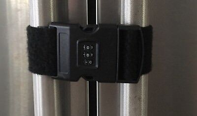 Refrigerator  Lock Latch with 3 digits Combination for Toddlers  Children