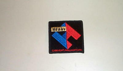 HEART Ann Nancy Wilson Vintage Embroidered Patch New Condition