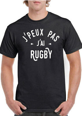 b9867eb23e6fd TEE SHIRT RUGBY personnalise nouvelle marque taille L - EUR 10,00 ...