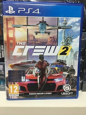 The Crew 2 Ps4 Playstation 4 Pal Usato