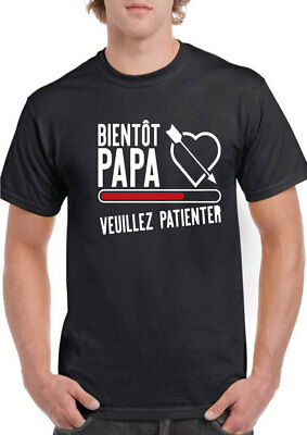 free delivery best price factory price TEE SHIRT FUTUR PAPA L XL XXL pere homme geek bébé grossesse ...