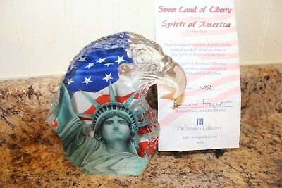 2001 The Hamilton Collection Sweet Cand Of Ciberty Spirit Of America