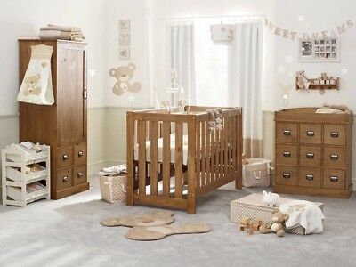 NEXT Highbury Nursery Furniture set, Cotbed, Chest of Drawers