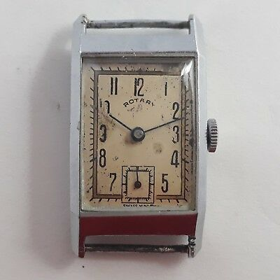 Rotary Art Deco Cal 1/380 Vintage Mens Watch