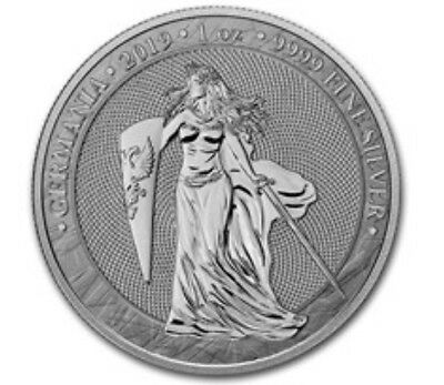 Germania 2019 5 Mark Germania 1 Oz 9999 Silver IN HAND available to ship now.