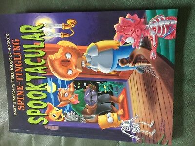 BART Simpson's treehouse of horror-Spooktacular