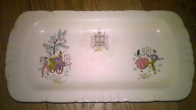 Beswick Dancing Days rectangular dish, believe produced in the 1950's