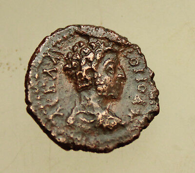 Commodus Hadrianopolis Thrace AE18mm  Hermes
