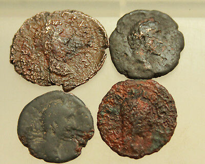Lot of 4x AE Roman Provincial coins D=17-23mm