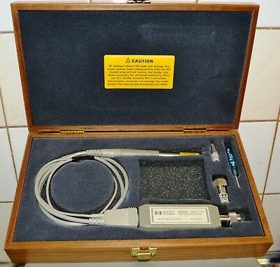 HP 85024A RF FET Probe tested w/wooden box