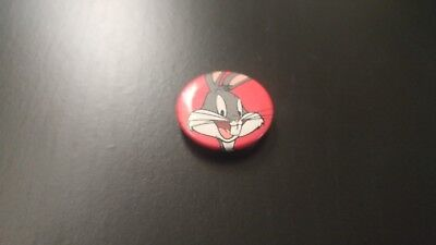 Vintage Bugs Bunny Collectible Pin Brooch Metal Tin Looney Tunes Warner Brothers