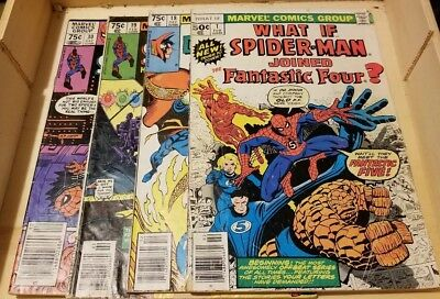 Marvel Comic Lot What If #1 #18 #19 #30