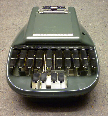 Stenograph Shorthand Machine Court Reporting EUC
