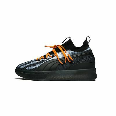 quality design 22ea5 ed7c0 PUMA CLYDE COURT Disrupt X-Ray Halloween Black Orange Basketball Men  191895-01