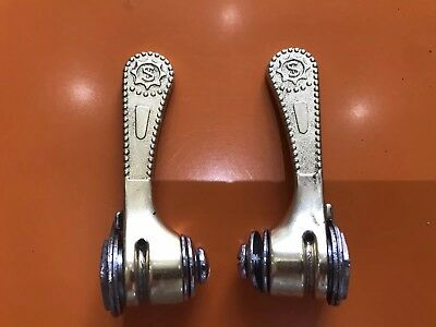 Simplex Slj Gold Retrofriction Shifter Levers R/l Px10