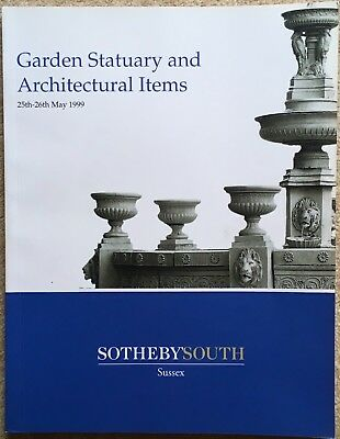 Garden Statuary & Architectural Items - Sotheby South 1999