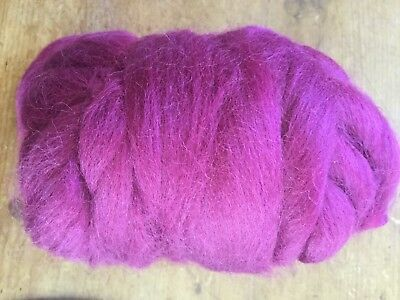 50g Corriedale Dyed Fibre. Needle Felting/spinning