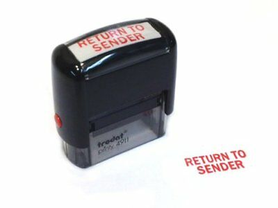 NEW- Trodat - RETURN TO SENDER - Self Inking Rubber Stamp - FREE SHIPPING