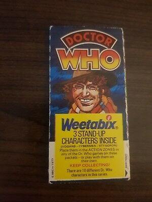 Doctor Who 1970's Weetabix Collectors Card