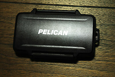 NEW Pelican 0945 Memory Card Case for 6 CF Memory Cards Black
