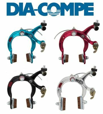 RED ANODIZED Dia-Compe MX2 MX-2 VC-733 V-brake bicycle brake for BMX or MTB