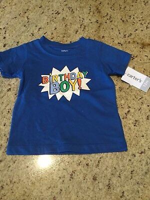 Boys Shirt Size 12 Months By Carters NWT