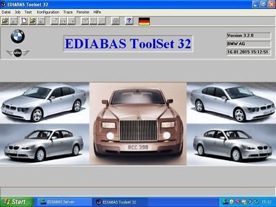 BMW Diagnose Software Ediabas INPA NCS Expert Windows 64-32 bit DE Version DVD