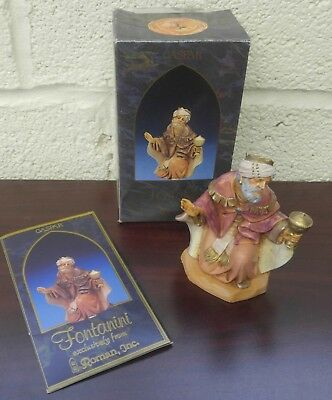 Roman Fontanini Heirloom Nativity Figure Gaspar King (12oz)