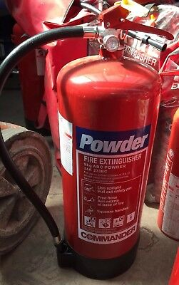 9ltr Powder Fire Extinguisher