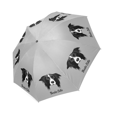 BORDER COLLIE Folding UMBRELLA For Dog Puppy Lover Gifts Stuff Memorial