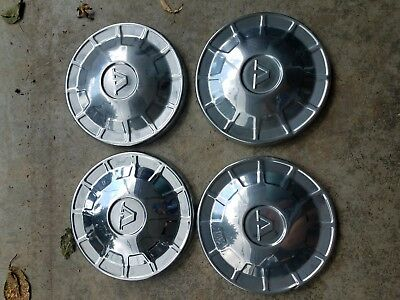 Vintage Volvo 140 160 Hubcaps (4) 1968 to 1972