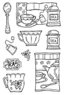 Woodware Clear Stamps Acrylic Craft Stamps Assorted Designs REDUCED