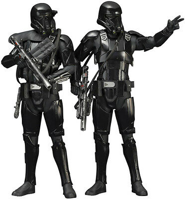 Star Wars Rogue One 7 Inch Statue Figure ArtFX+ - Death Trooper 2-Pack