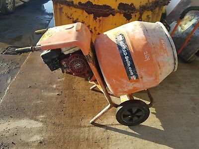 Belle Minimix 150 2010 Year Honda Gx120 Petrol No Stand Cement Concrete Mixer