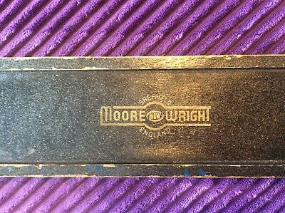 Moore And Wright Caulking Irons, Wooden Boat Tools In Box
