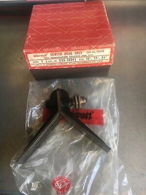 Starrett Center Head for Combination Squares and Sets C33-1224 - Used in box