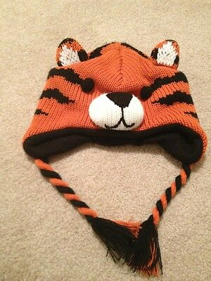Gently Used Boy Tiger Hat Size Small