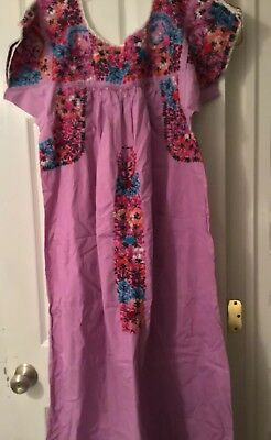 Mexican Hand Embroidered Wedding Dress