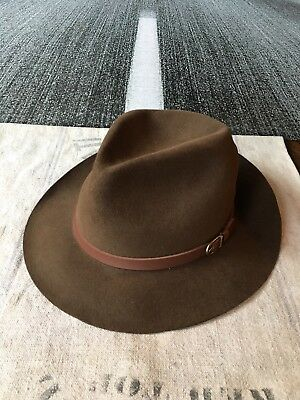 Vintage Stetson for LL Bean Crushable Outdoor Hat, Made in USA, 7 1/2