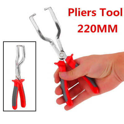 220MM Fuel Line Petrol Clip Pipe Hose Release Disconnect Removal Replace Pliers