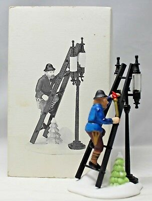 """Department 56 """"Lamplighter Accessory Set"""" Dickens' Village Accessory #55778 READ"""