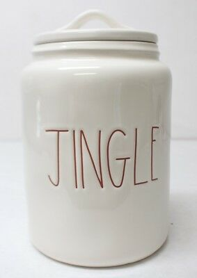 Rae Dunn by Magenta Jingle Red LL Canister New Free Shipping