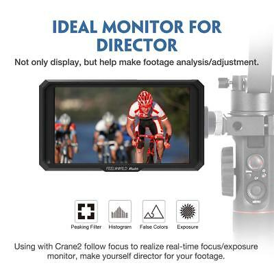 Feelworld Master MA5 5 inch Camera Field Monitor, with 4K HDMI 8V DC in/Out