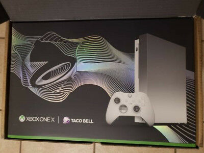 Xbox One X Platinum Bundle - Limited Edition Taco Bell