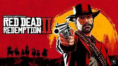 Red Dead Redemption Gaming Poster Playstation 4 Xbox One | Sizes A4 to A0 | E137